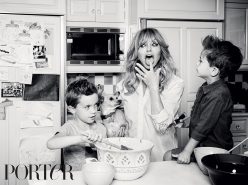 Goldie Hawn family photography Porter Magazine, Pamela Hanson Photography