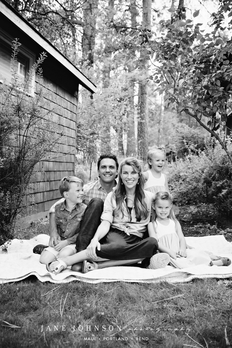 Camp Sherman Central Oregon-Family Portrait Photographer