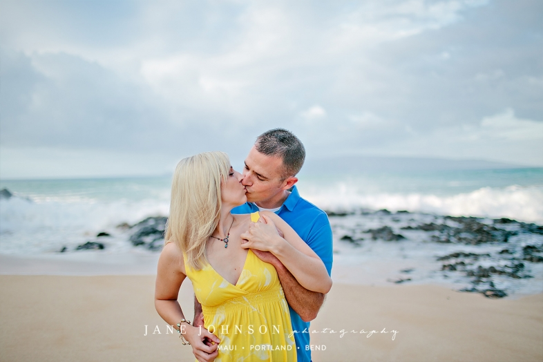 Makena Wailea Maui Hawaii Anniversary Portrait Photography