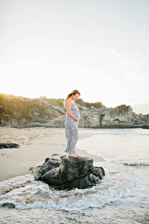 Maui Hawaii Maternity Portrait Photographer Jane Johnson Photography